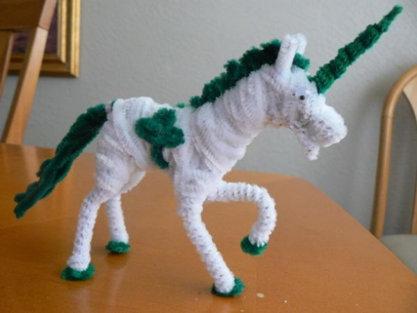 Unicorn From Pipe Cleaner