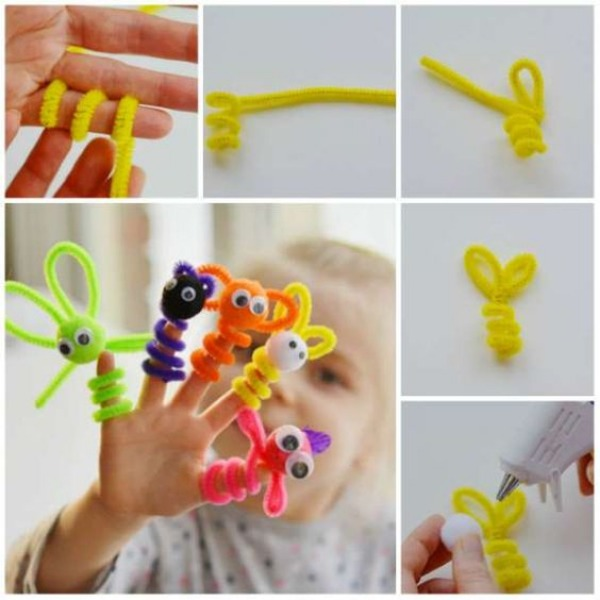 Pipe Cleaner Animal Crafts For Kids Adorable Pipe Cleaner Animal Craft