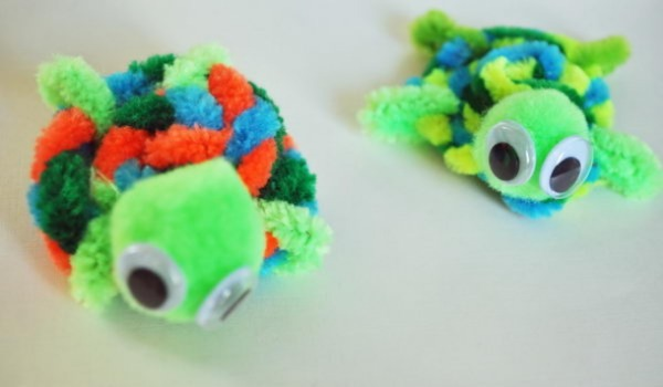Pipe Cleaner Animal Crafts For Kids Pipe Cleaner Adorable Tortoise Craft