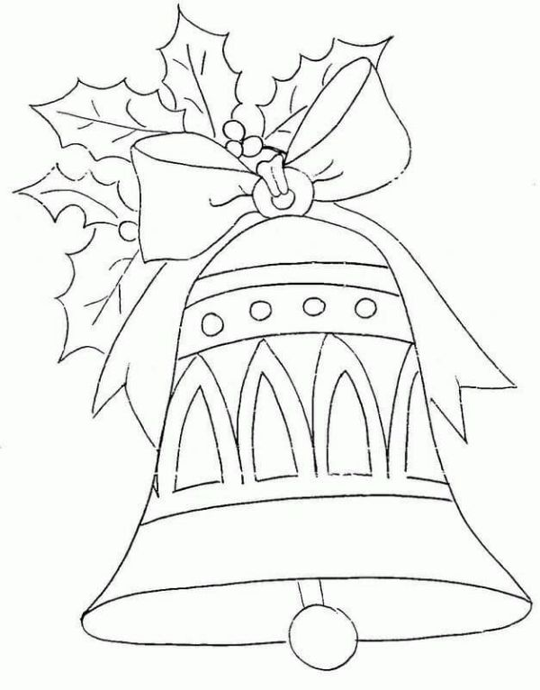 A Christmas Ball Coloring Page