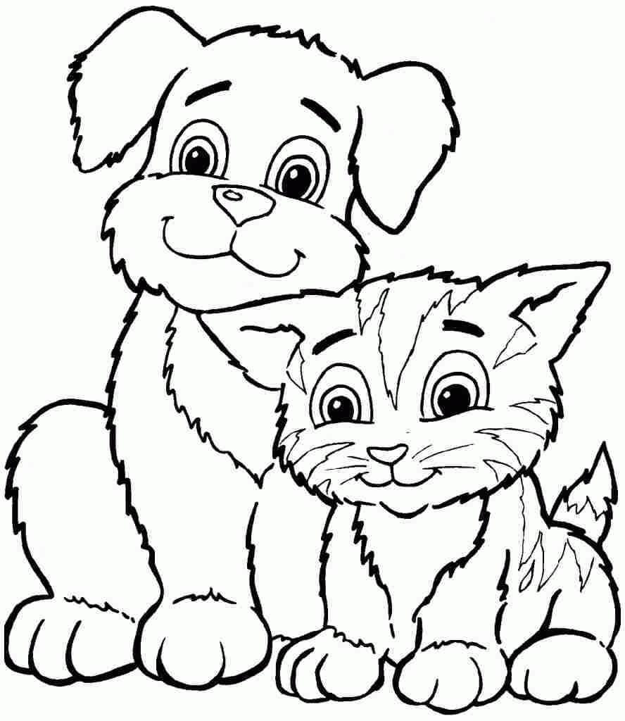 Animal Coloring Printables for Kids