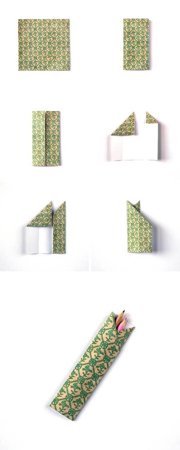 Paper Pencil Box Craft