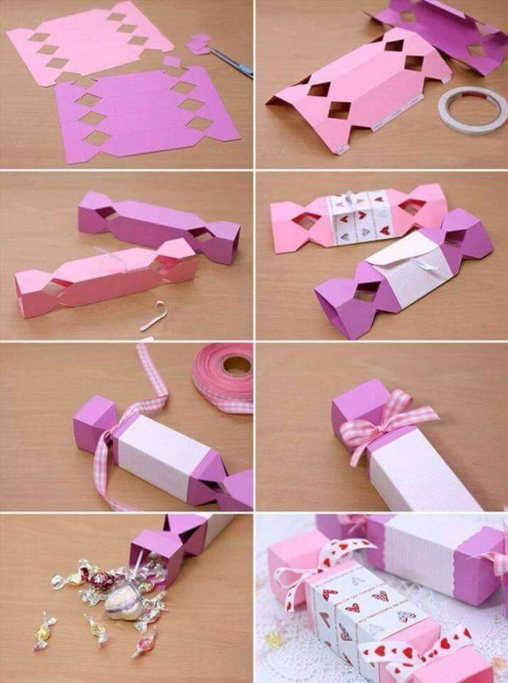 Paper Candy Holder