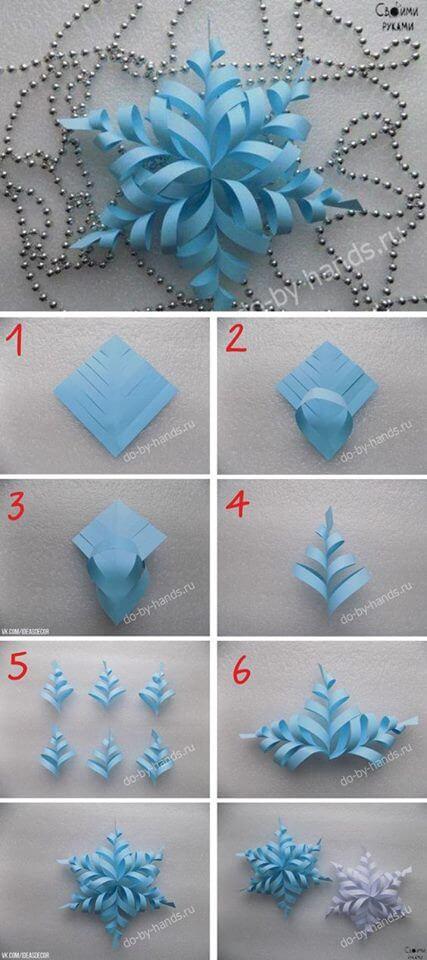 Make your own snowflakes