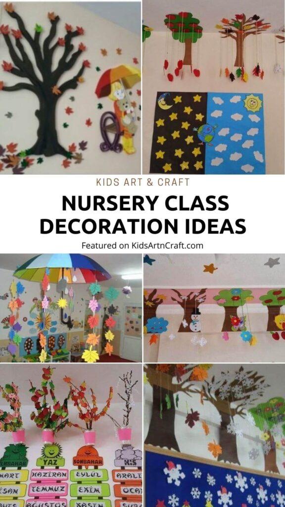 10 Amazing Nursery Class Decoration Ideas