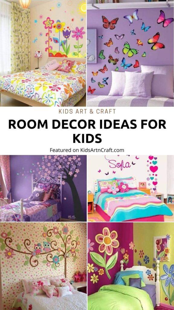Room Decor Ideas for Kids - Beautiful Wall Art