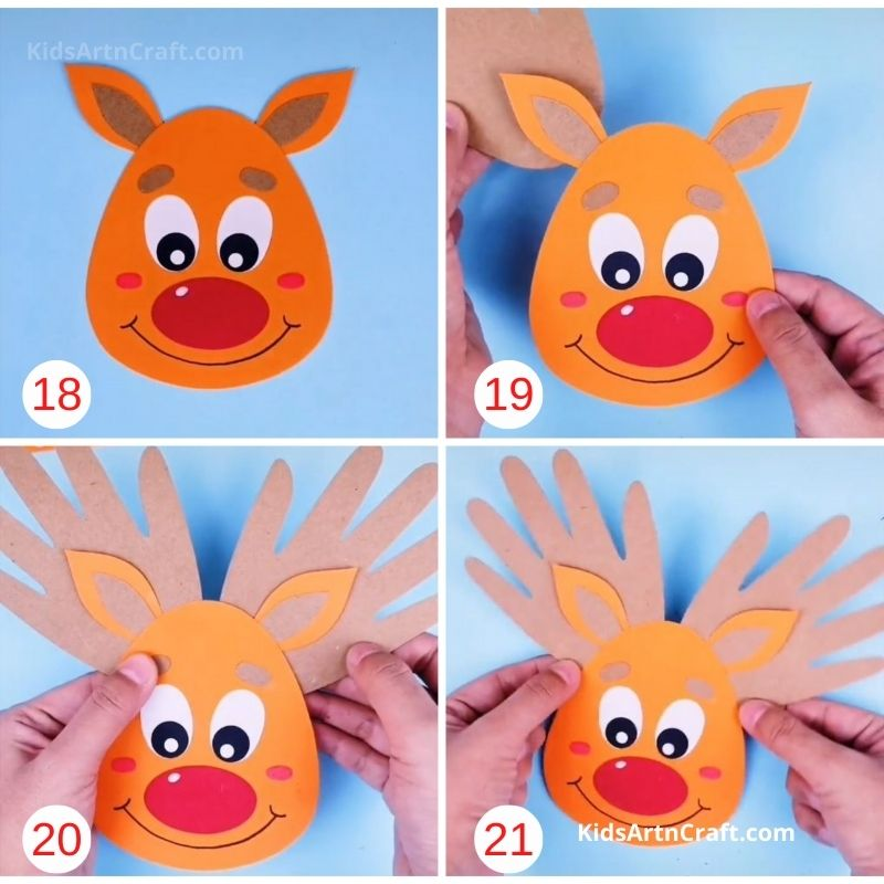 How to Make Paper Reindeer Step by Step Instructions Easy Tutorial