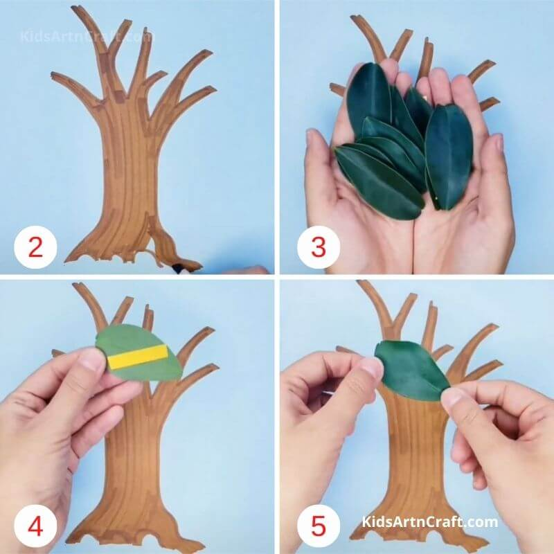 How to Make 3DPaper Tree Step by Step Instructions Easy Tutorial