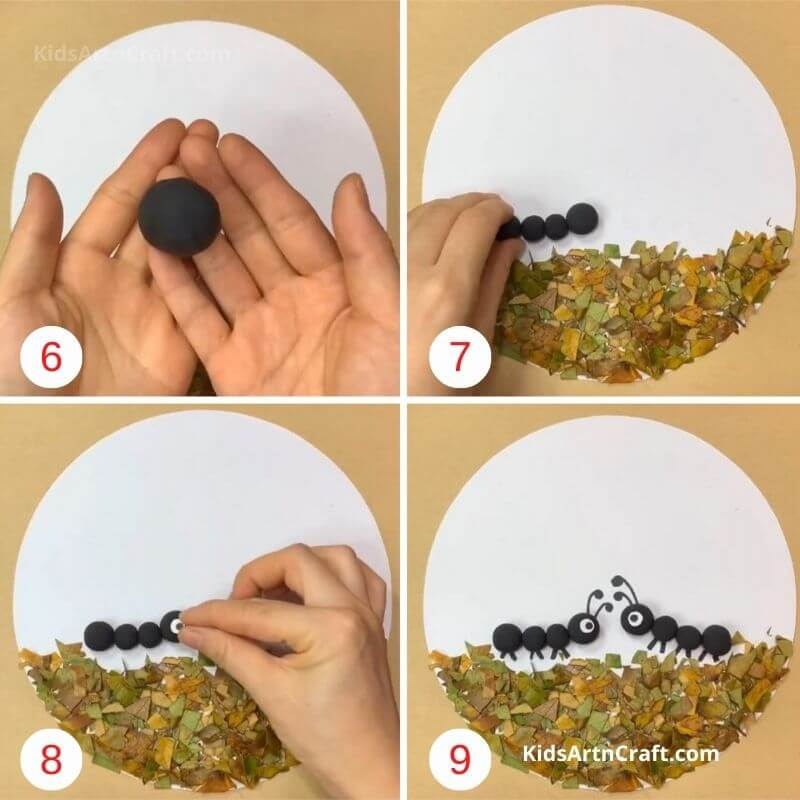 How to Make Dry Leaf Art Project Step by Step Instructions Easy Tutorial